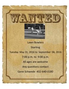 Lawn 2016 bowling