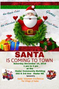 Santa Coming to Hadar @ Santa's Coming to Hadar